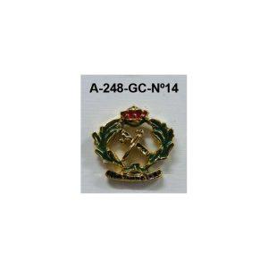 Pin Guardia Civil Nº14