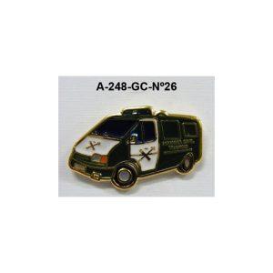 Pin Guardia Civil Nº26