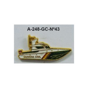 Pin Guardia Civil Nº43