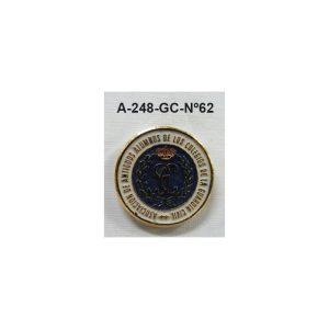 Pin Guardia Civil Nº62