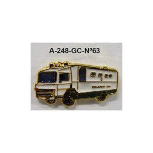 Pin Guardia Civil Nº63