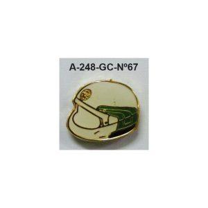 Pin Guardia Civil Nº67