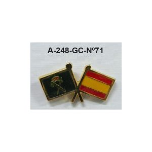 Pin Guardia Civil Nº71
