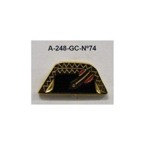 Pin Guardia Civil Nº74