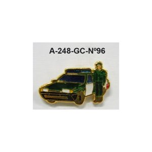 Pin Guardia Civil Nº96