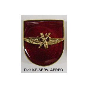 Distintivo en relieve Funcion SERVICIO AEREO-HELICOPTEROS