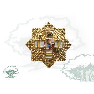 Medalla miniatura GRAN PLACA MERITO MILITAR AMARILLO
