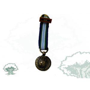 Medalla Tela miniatura MINUSTAH-HAITI