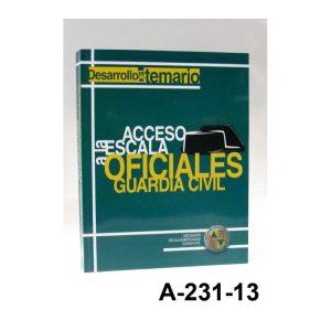 """Libro Desarrollo del Temario """"""""ACCESO A LA ESCALA OFICIALES GUARDIA CIVIL"""""""""""