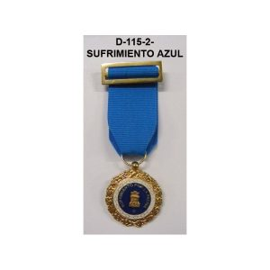 Medalla SUFRIMIENTO POR LA PATRIA DISTINTIVO AZUL