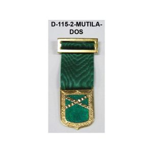 Medalla MUTILADOS DISTINTIVO VERDE