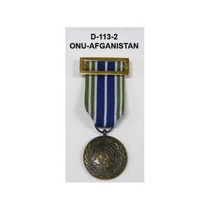 Medalla ONU AFGANISTAN