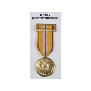 Medalla MERITO TURISTICO