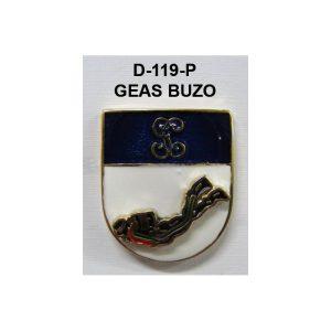 Distintivo en relieve Permanencia GEAS (BUZO) NUEVO MODELO