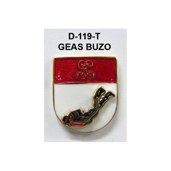 Distintivo en relieveTitulo GEAS (BUZO) NUEVO MODELO