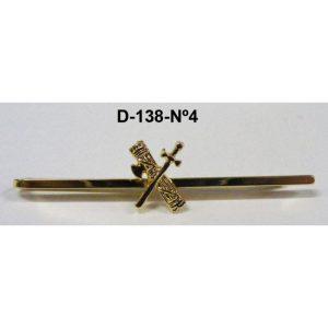 Sujetacorbatas Guardia Civil Nº 4