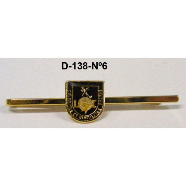Sujetacorbatas Guardia Civil Nº 6