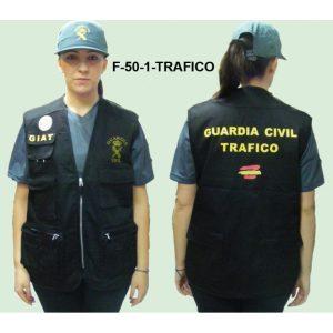 Chaleco intervencion TRAFICO