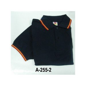 Camiseta-Polo manga corta azul marino