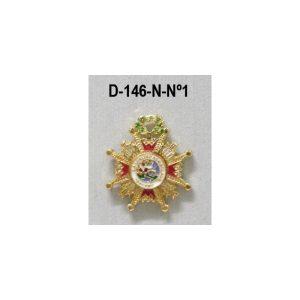 Medalla miniatura tipo pin ISABEL LA CATOLICA