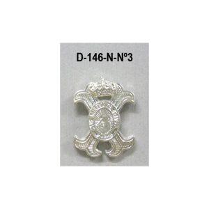 Medalla miniatura tipo pin CRUZ MERITO CIVIL