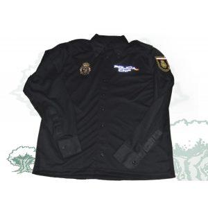 Camisa-Polo Oficial Manga Larga Policía