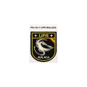Distintivos especialidades PVC UPR MALAGA