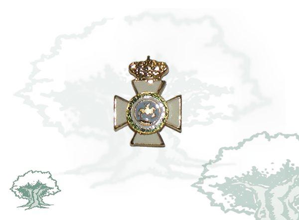 Medalla miniatura tipo pin CRUZ SAN HERMENEGILDO