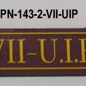 Tira de velcro VII UIP