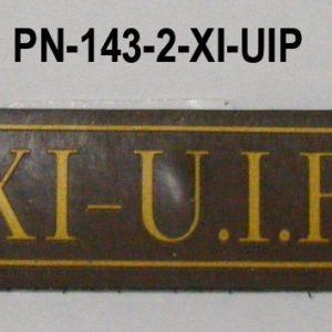 Tira de velcro XI UIP
