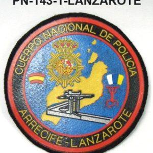 Distintivos especialidades PVC LANZAROTE