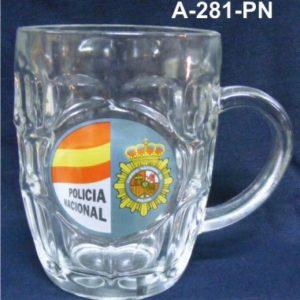 Jarra Cuerpo Policia 1/2 L