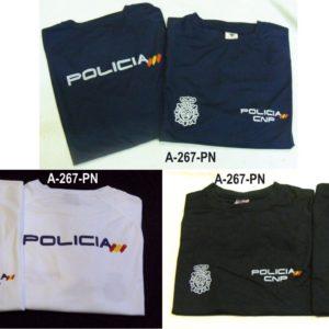 Camiseta Policia Nacional España
