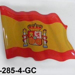 Pegatina burbuja bandera unidad