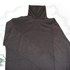 Jersey cuello cisne algodón
