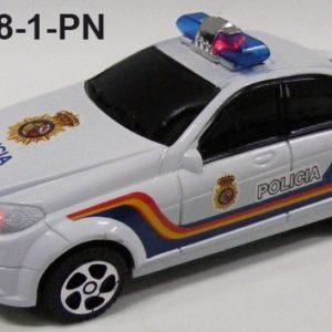 Coche con luz y sonido Cuerpo Policia
