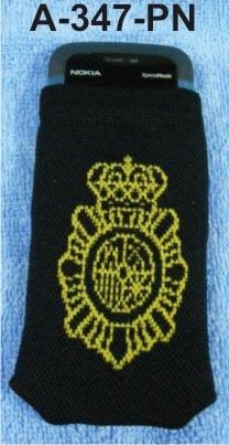 Funda movil lana emblema Cuerpo Policia