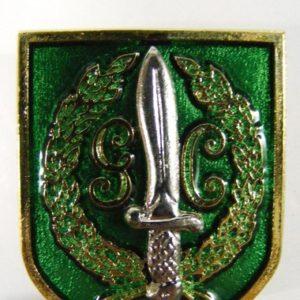 Distintivo antiguo del GAR
