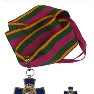 Medalla ENCOMIENDA DEDICACION POLICIAL (30 AÑOS)