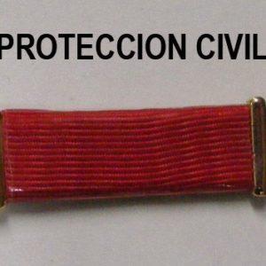 Pasador PROTECCION CIVIL ROJO