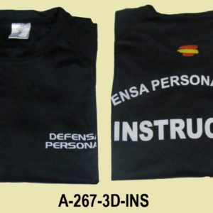 Camiseta INSTRUCTOR Defensa Personal Policial