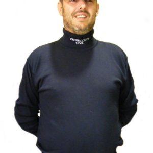 Jersey cuello cisne Protección Civil