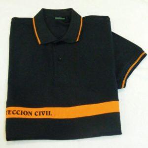 Camiseta Protección civil manga corta