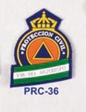 Escudo Genérico con nombre población P.V.C.(Mínimo 25 Und.)
