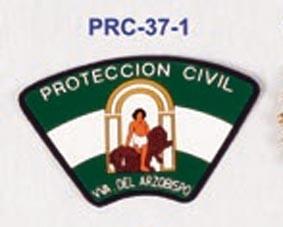 Escudo brazo P. Civil nombre población P.V.C. (Mínimo 25 Und.) .