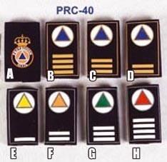 Hombreras Protección Civil PVC Todos los Modelos