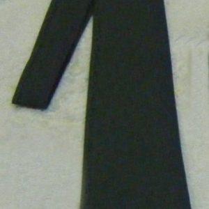 Corbata tela verde servicio