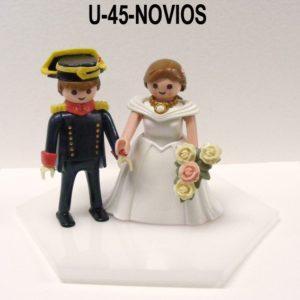 Muñecos (pareja) NOVIOS DE GALA