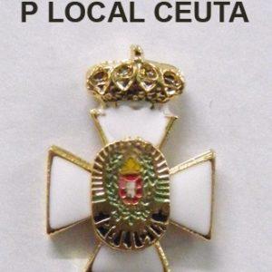 Medalla miniatura tipo pin POLICIA LOCAL CEUTA
