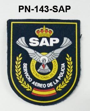 Distintivo especialidad velcro SAP